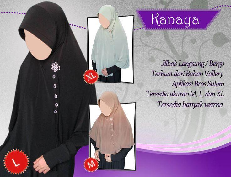 Jilbab Hameeda KANAYA. Jilbab Hameeda terbaru dengan desain menawan.  Harga : • L : 72.000 • XL : 76.000  Ayo buruan di order, hubungi jilbab murah malang segera : • HP / WA : 085.649.885.526 • BB : 761205B6 / 27F72362 • Email : botia@botiashop.com • Web : www.botiashop.com  Happy Shopping