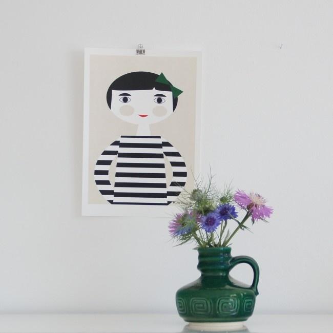 DIN A4 Poster Leena von Ruth Landesa