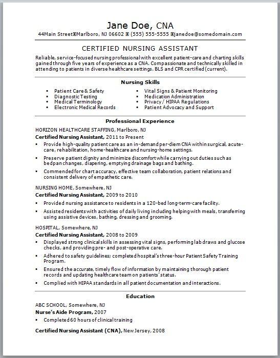9 Best Lpn Resume Images On Pinterest Nursing Resume