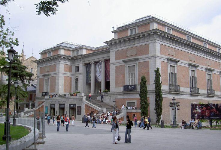 El Museo del Prado, Madrid, España, de Juan de Villanueva (1759-1811) (estilo neoclásico)