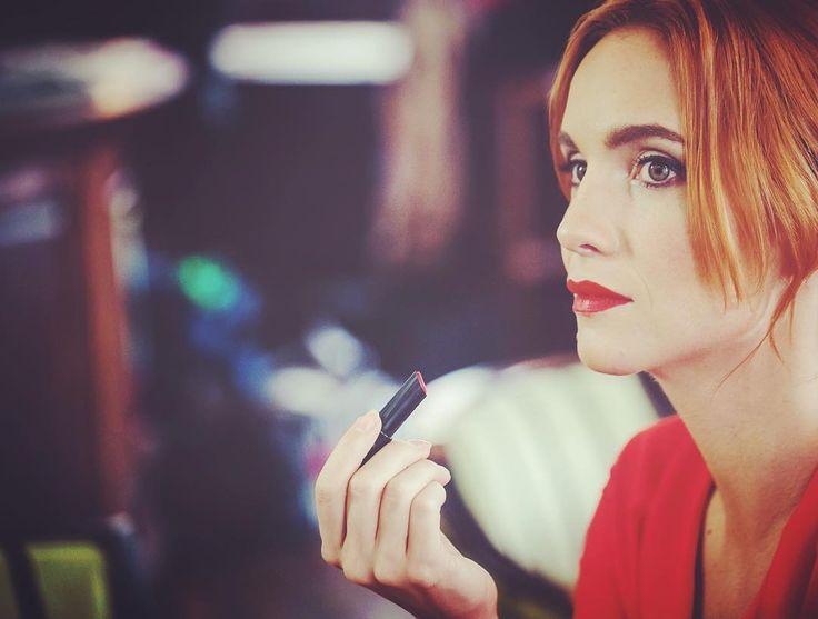 I believe in RED lipstick and you?😊💃🏻😊😊#actress #shooting #hanavagnerova #fashion #femmefatale #redlipstick #besexy #bourjois #redisthewarmestcolour #woman #lovemylife @bourjois_czsk