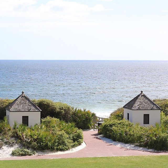 Missing the The Pearl Hotel's stunning view of Rosemary Beach, Florida!