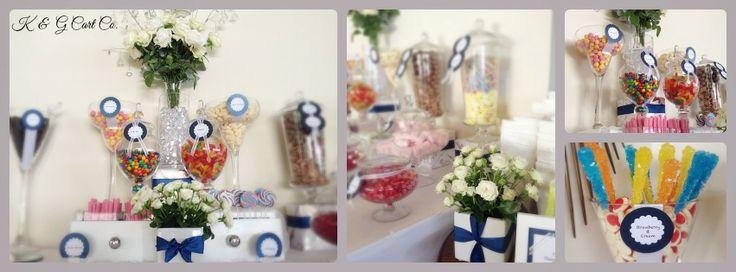 Elegant Candy table.