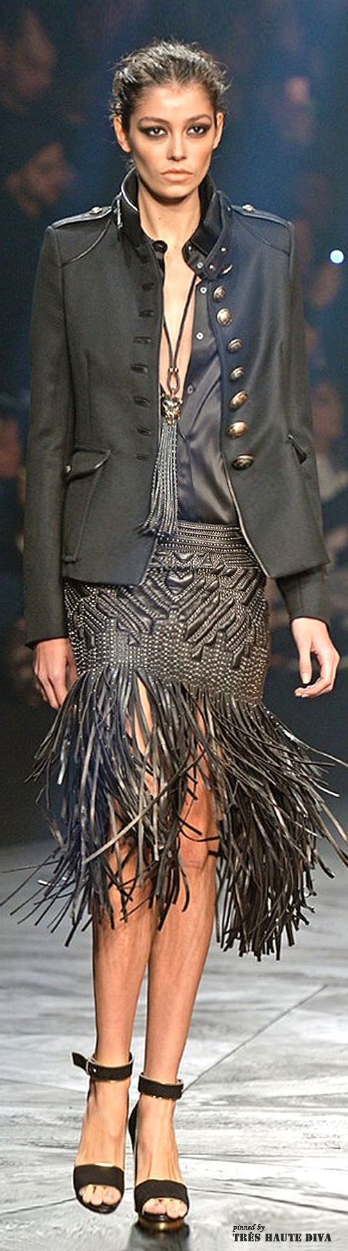 #Milan Fashion Week Roberto Cavalli Fall/Winter 2014 RTW| LBV ♥✤ | KeepSmiling | BeStayBeautiful