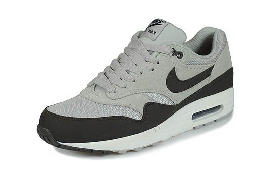 Nike Air Max 1 'Granite/Deep Smoke-Sail-Black': Running Shoes, Dope Nike, Apparel Style, Granite Black, Nikes, Air Max 1, Granite Colorway, Nike Air Max, Granite Deep