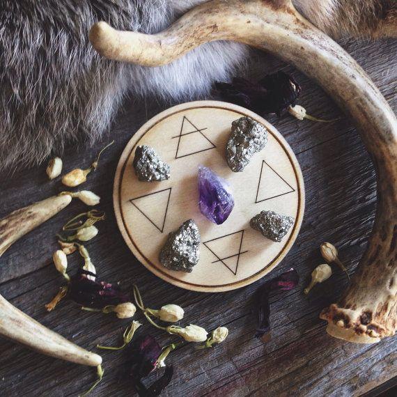 Alchemy Elemental Altar Tile by UnusualOptical on Etsy, $20.00