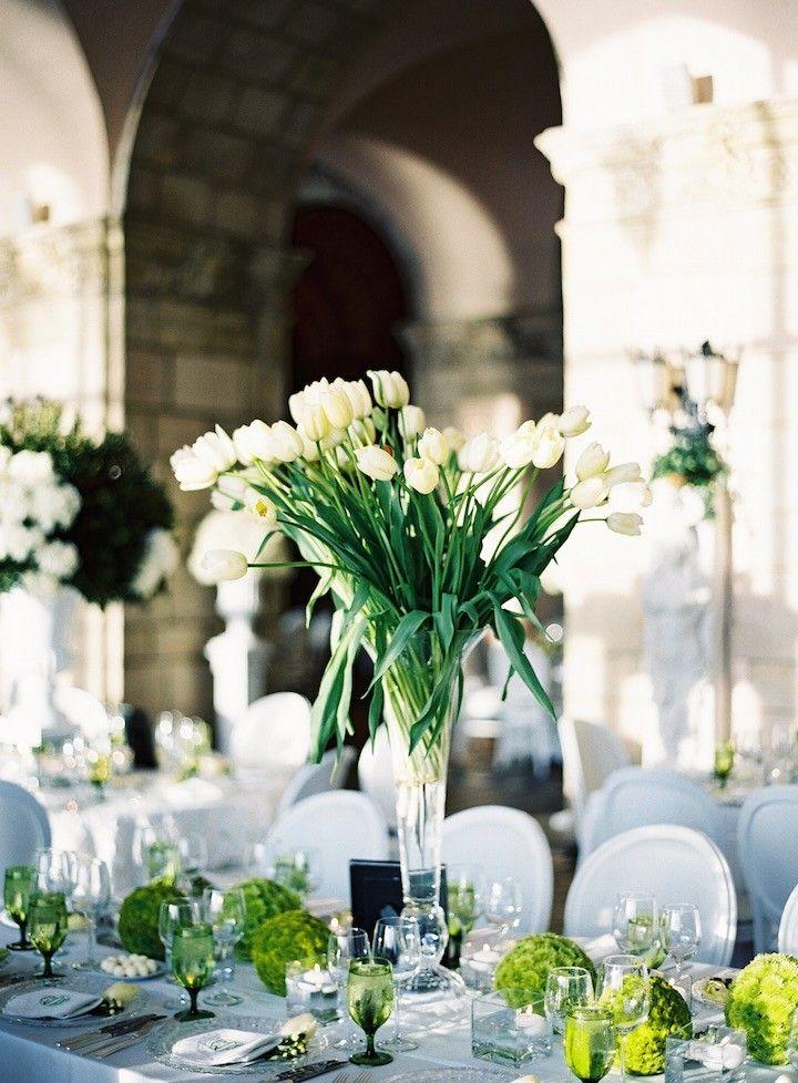 Palm Beach Wedding Shines Green Decor - MODwedding