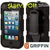 Griffin Survivor Case (with included belt clip) for iPhone 5 - Now Available in South Africa