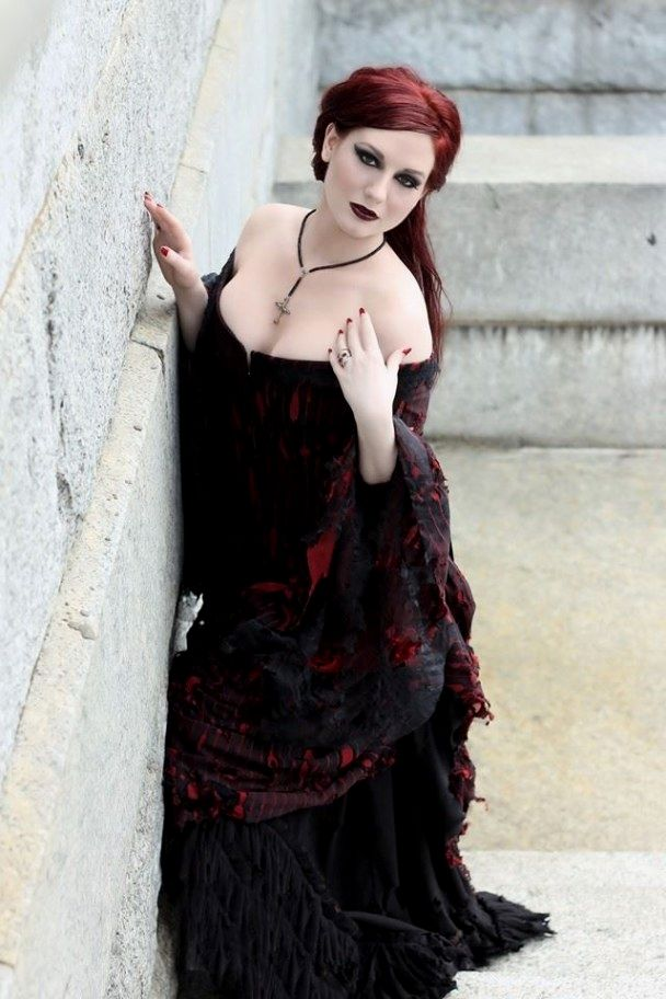 Gênero gótico impressionante   – Goth is beautiful