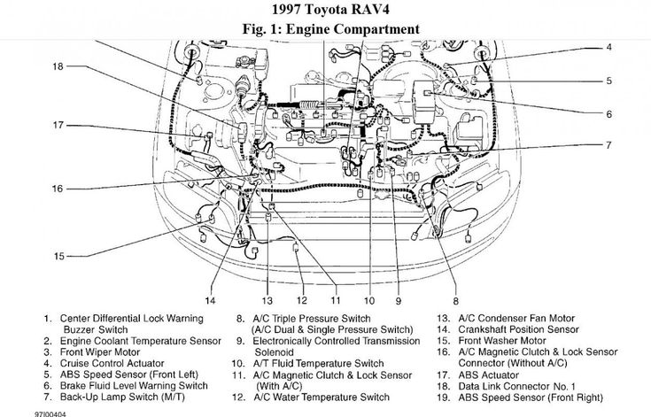 Toyota Corolla Engine Bay Diagram Toyota Corolla Engine