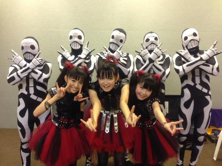 A rather different pin of a different kind of music from a different country of a different kind of idol group. BABYMETAL. Just shows how far my variety of music reaches.