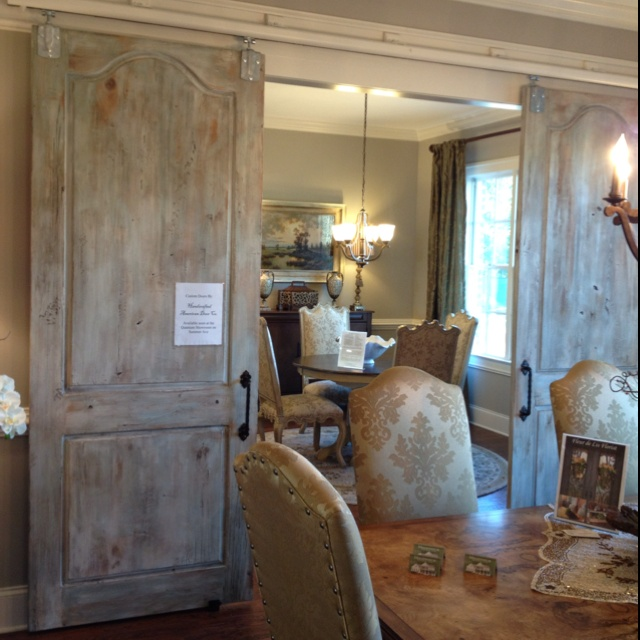 Sliding barn doors: Vesta Home Show | Home Decor ...