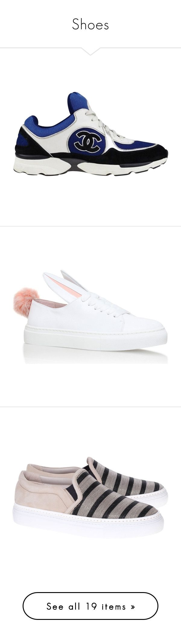 """""""Shoes"""" by fashionbymgda ❤ liked on Polyvore featuring shoes, sneakers, pink, christian louboutin sneakers, metallic high top sneakers, pink high top sneakers, gold shoes, metallic sneakers, black slip-on shoes and slip-on sneakers"""