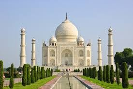 The Taj Mahal in India.  A more romantic gesture was never made!