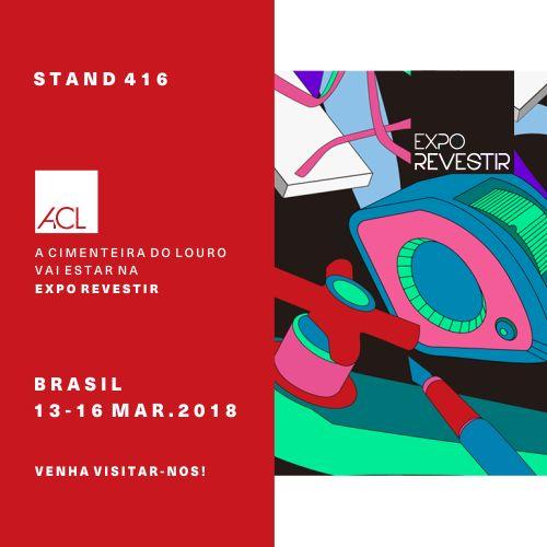 A Fashion Week da Arquitetura e Design está de volta e nós estaremos presentes!  Expo Revestir - Brasil 13-16 Mar. 2018  Visite-nos! Stand 416 -- Fashion Week of Architecture and Design is back and we will be there!  Expo Revestir - Brazil 13-16 Mar. 2018  Visit us! Stand 416