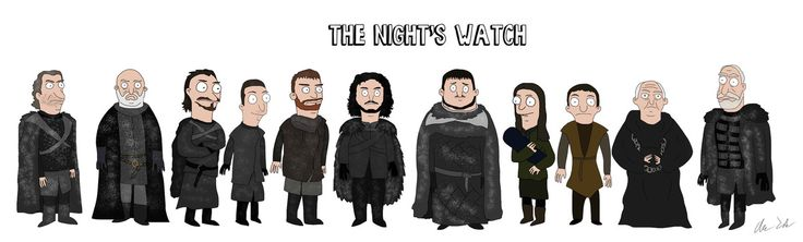 Imgur user CarlosDanger101 reimagines 'Game of Thrones' characters by drawing them in the style of 'Bob's Burgers'.