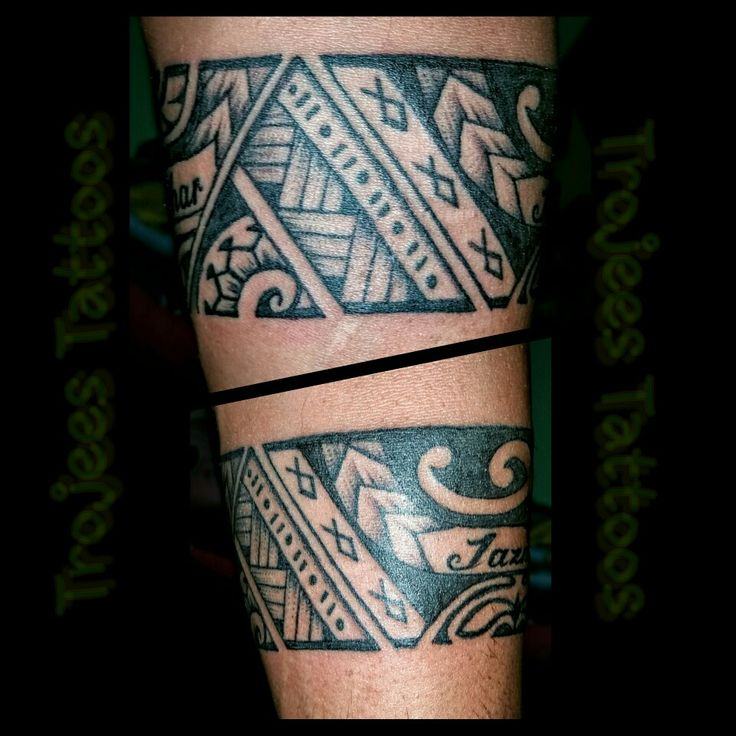 Fiji Tattoo Poly band by Paul Sosefo