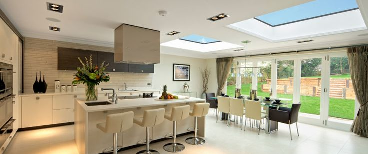 Skylights. Dining table in extension open-plan-skylights.jpg 950×400 pixels