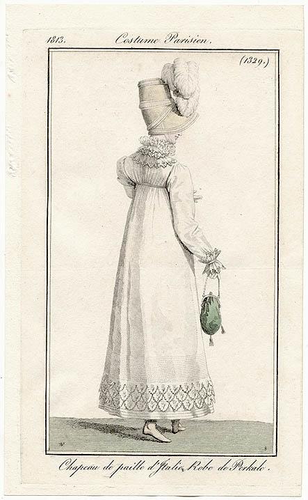 Costume Parisien (1329), 1813.
