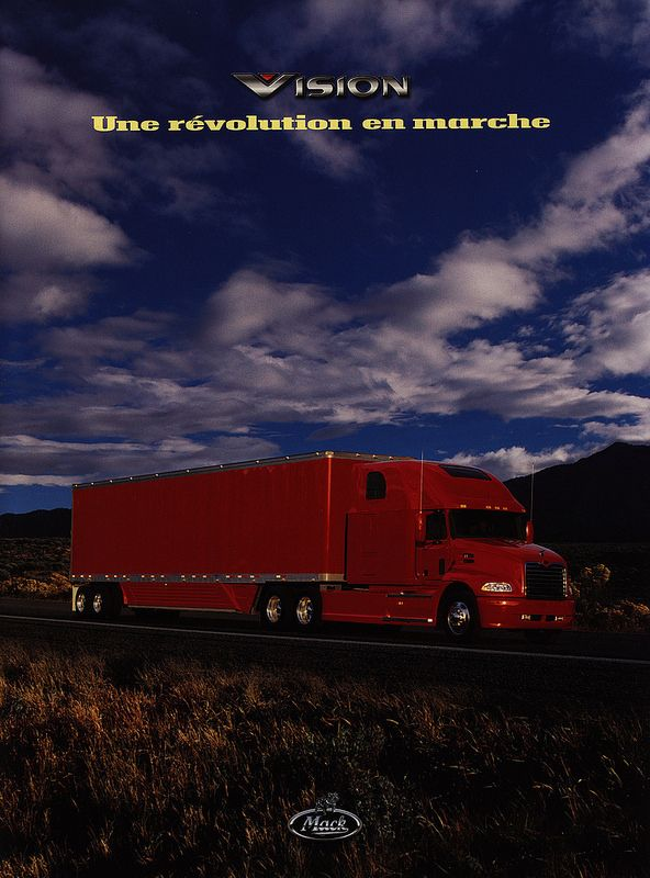 Mack Vision - Une révolution en marche 1999_1 | truck brochure | by worldtravellib World Travel library - The Collection