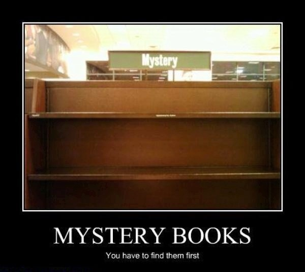 Mystery Books Humor :)