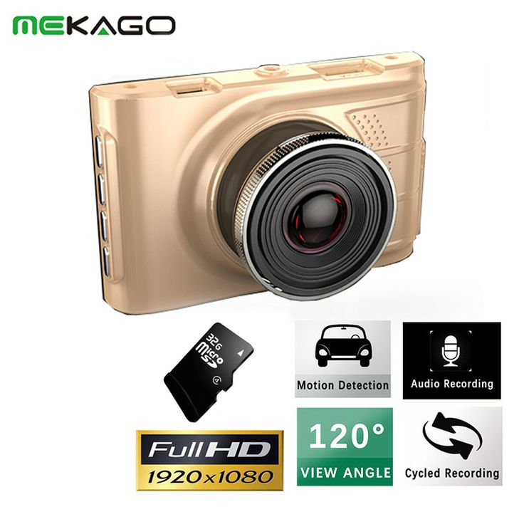 """3"""" LCD FHD 1080P with 32GB TF card  Car DVR Vehicle Camcorder 120 Degree Night Vision Dash Cam Camera Digital Video Recorder"""