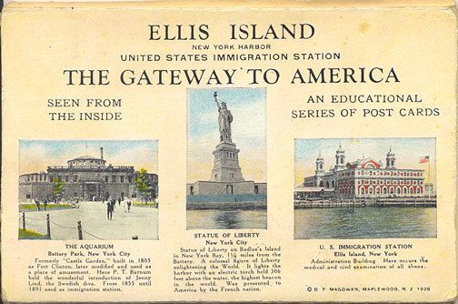 a history of the ellis island a gateway to america United states mint joins national park service on quarter honoring ellis island, the historic gateway for millions of unique history of the largest.