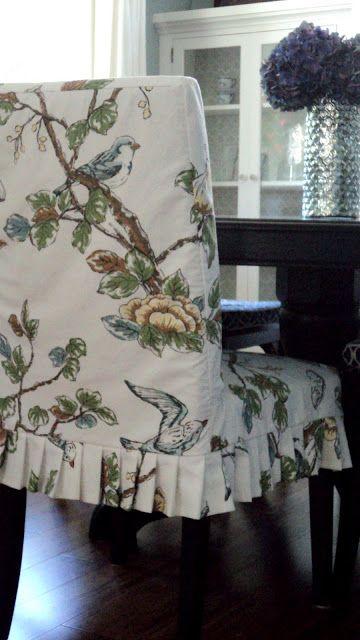 Living in the Rain Garden: Making Henriksdal Chair Slipcover's Part One