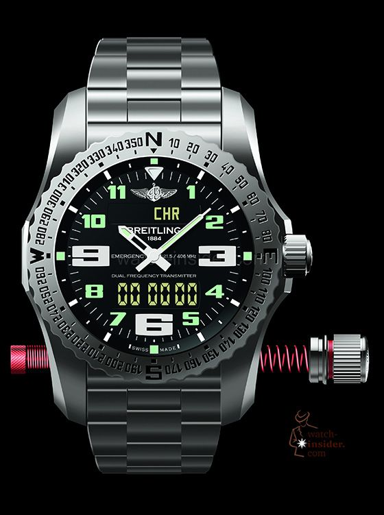 "Breitling Emergency II: My wife told me that at that price, if I crash somewhere,:""do not worry I will find you...or the watch.....no need for the emergency signal"""