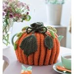 This adorable little pumpkin tea cozy is perfect for keeping your teapot - and your tea - toasty warm. We suggest using our Lamb's Pride yarn from Brown Sheep.
