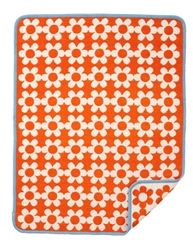 New for Spring/Summer 2015 from Klippan, the Flower Power Organic Cotton blankets are designed by Bengt & Lotta