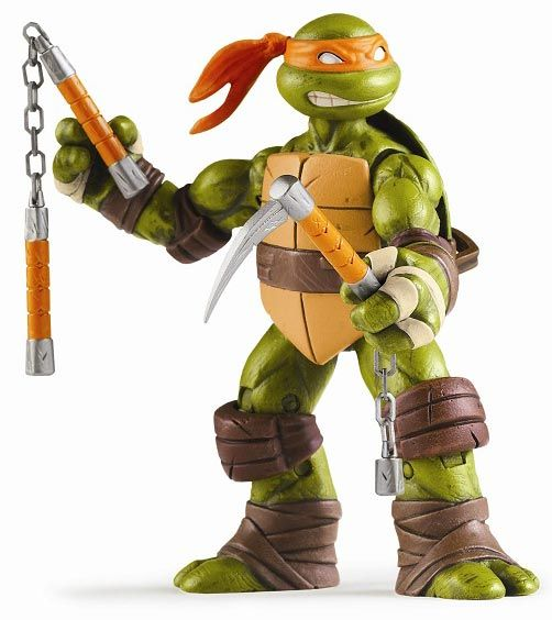 Playmates Toys TMNT Action Figures Mikey  Like this item, please visit here for more detail and best price! even more choice there
