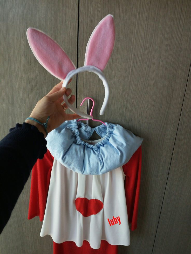 Costume bianconiglio white rabbit luby ideas
