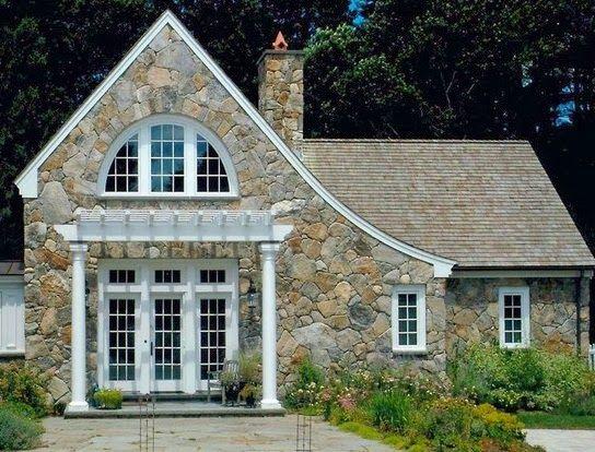 Fachadas de piedra dise os de casas con fachadas de - Casas con fachadas de piedra ...