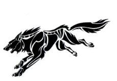 Native American wolf Symbol | Tribal Wolf Tattoo Meanings | Tribal Animal Tattoos | Cool Tribal ...
