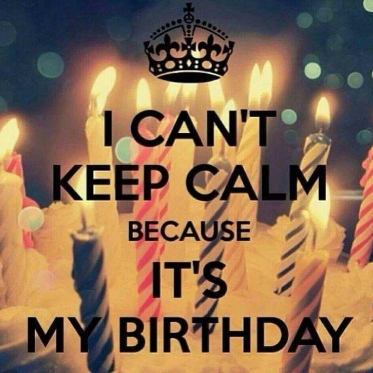 Pin On Keep Calm Birthday