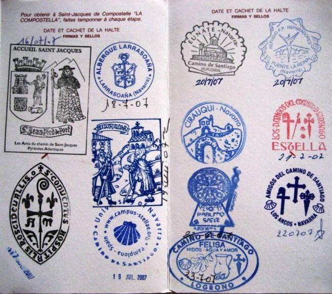 Credencial del Peregrino - El Camino de Santiago