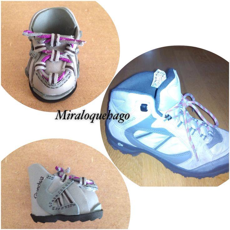 Zapatillas montaña goma eva