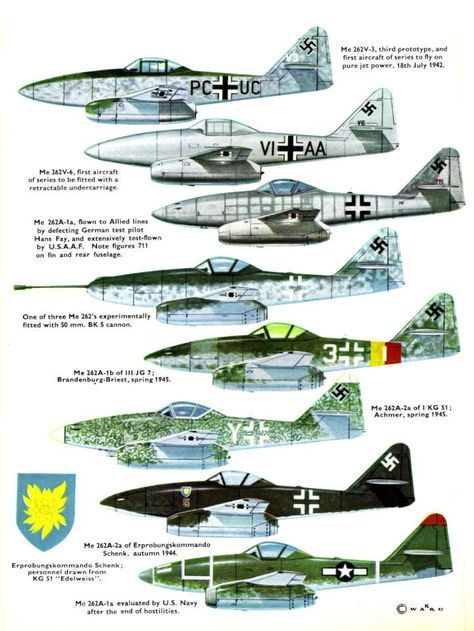 Me262 Schwable