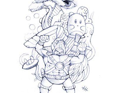 "Check out new work on my @Behance portfolio: ""Random Sketch #2"" http://be.net/gallery/52004751/Random-Sketch-2"