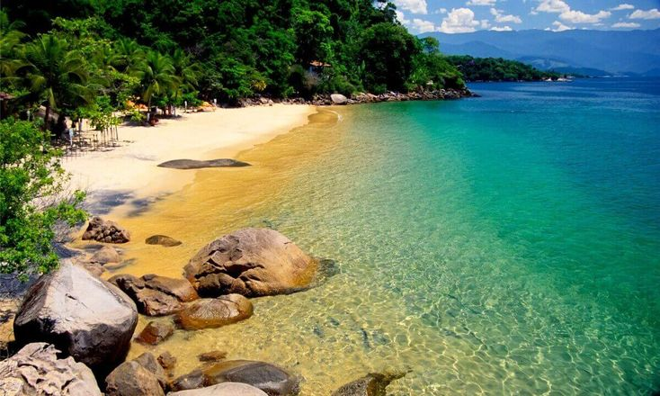 Praia da Lula, Paraty, Costa Verde - RJ, Brasil