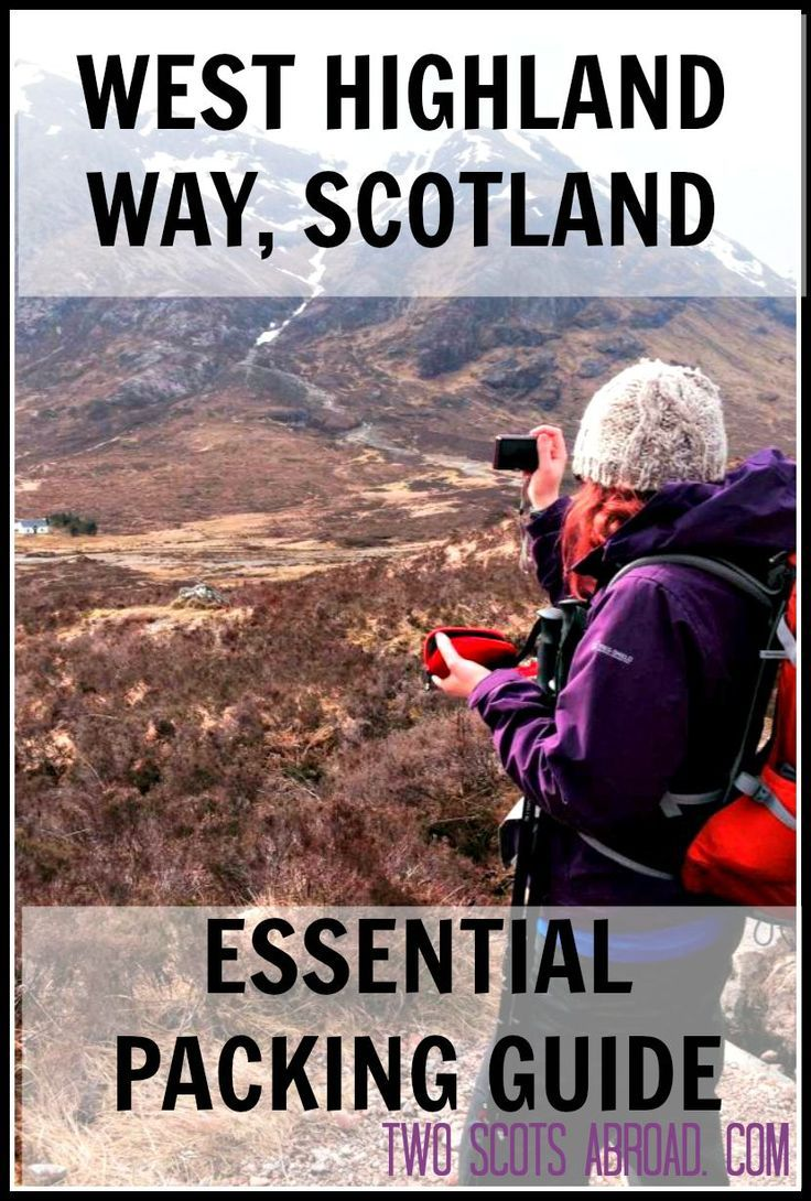 Be prepared for the 96 mile trek from Milngavie to Fort William, Scotland, with this essential packing guide. Suitable for alternative multi-day treks.