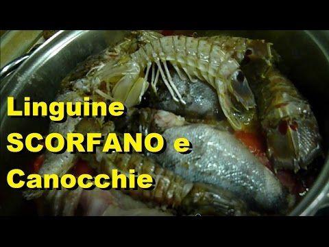 Мульти Рецепт     Italian Recipes    MultiRecept: Ricette con lo Scorfano Pasta Linguine SCORFANO e ...
