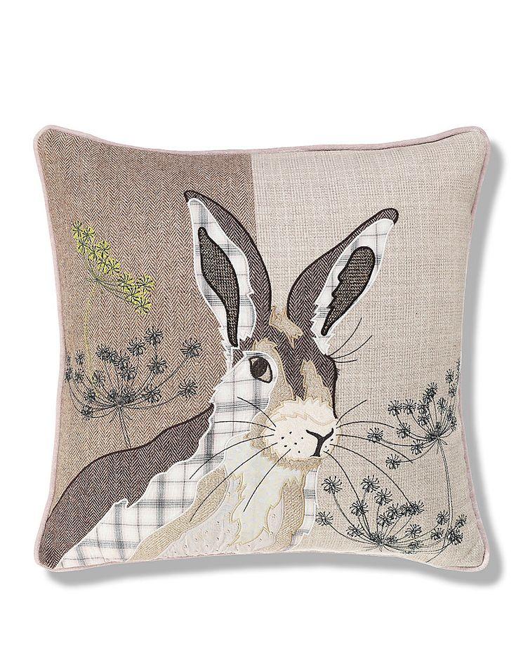 Hermione Hare Print Cushion