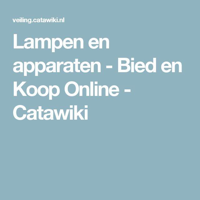 Simple Lampen en apparaten Bied en Koop Online Catawiki