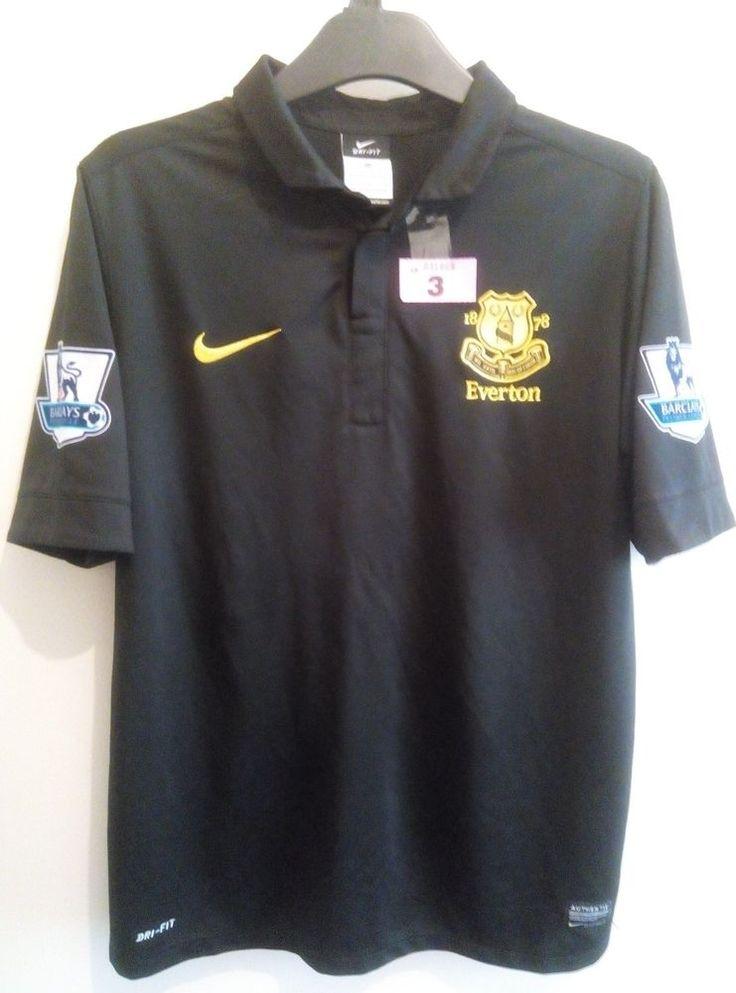 Everton Children's Away Shirt No.10 Hewitt & Premier League Patches
