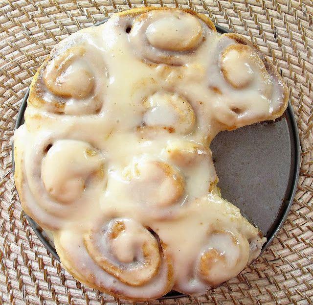 No Yeast Cinnamon Rolls | The reason I'm fluffy | Pinterest