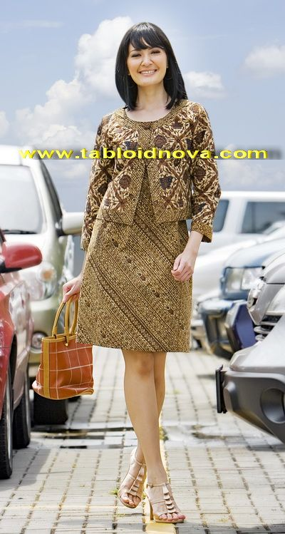 Batik sogan, chic!