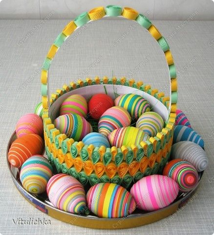 Tutorial for eggs and basket