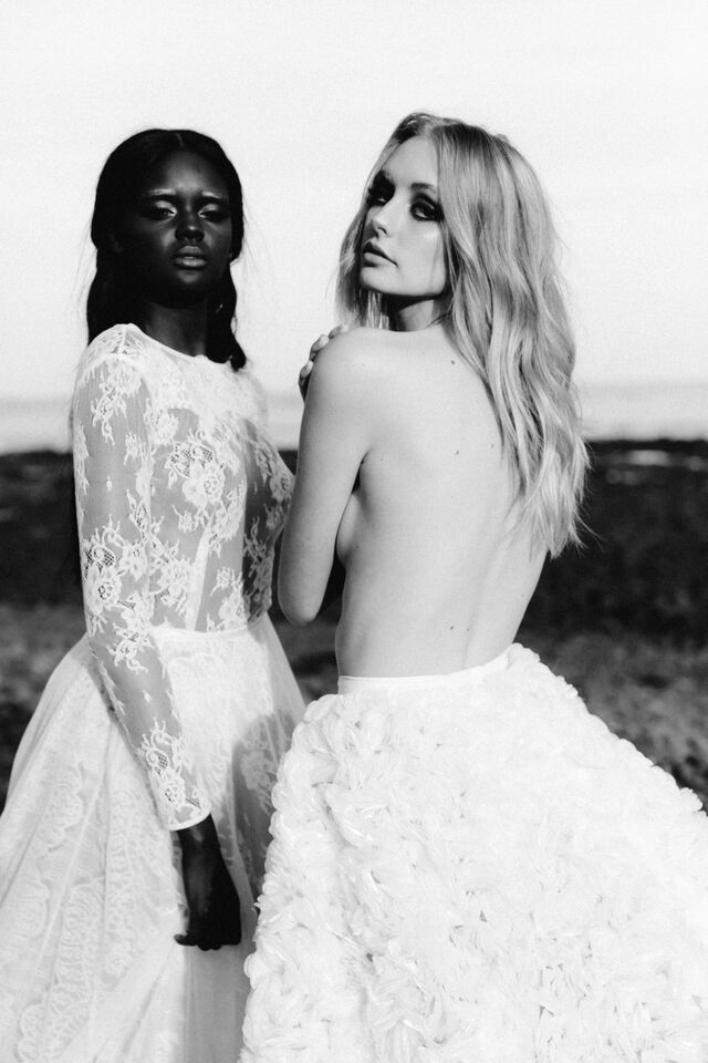 Lilith + Chloe  | ONE DAY BRIDAL | Love's Keeper | Spring15 | Photography: Erin & Tara